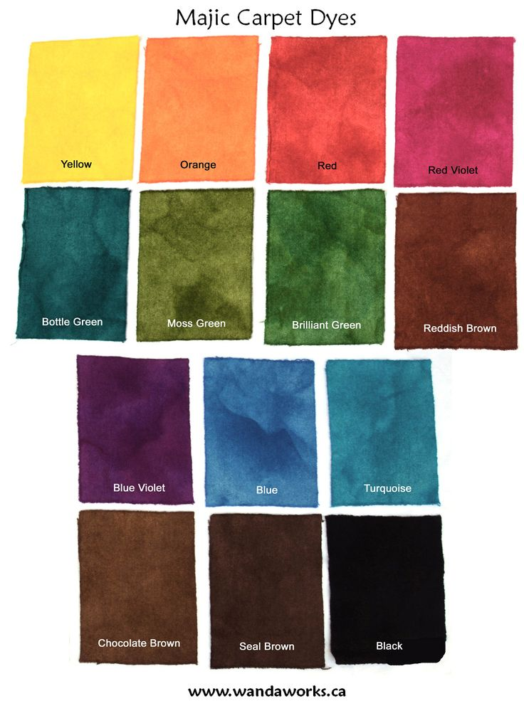 26 Best Images About Majic Carpet Dye On Pinterest