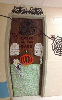 Halloween decorations for dorm door!   Halloween Ideas ...