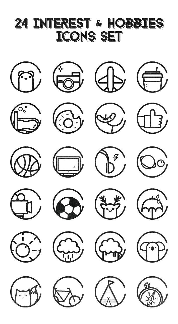 symbole cv design