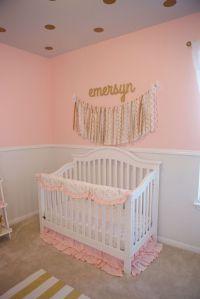 1000+ ideas about Pink Gold Nursery on Pinterest