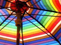 colorful patio umbrella | Multi / Color | Pinterest ...