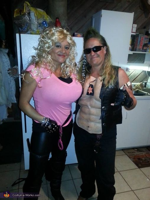 Dog the Bounty Hunter and wife Beth Costume