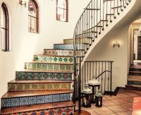 66 best images about Mexican Tile Stairs on Pinterest