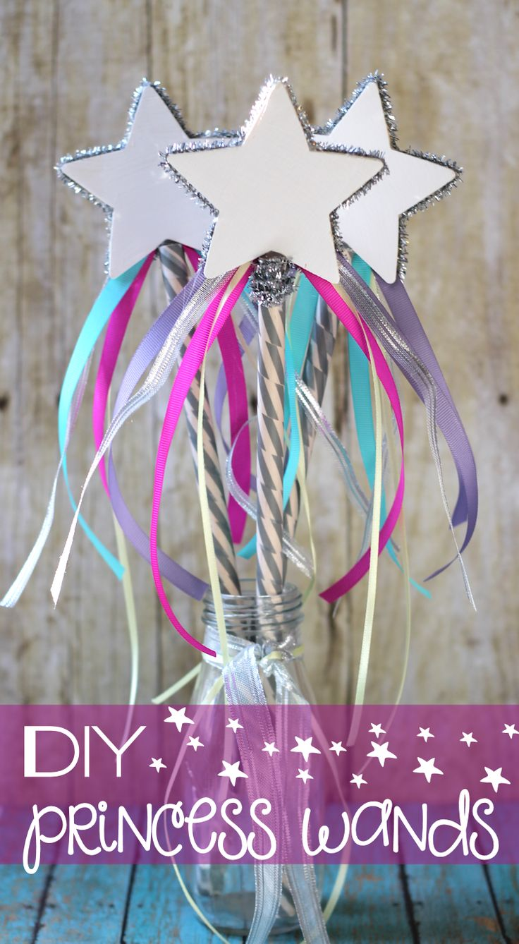 Diy princess wands