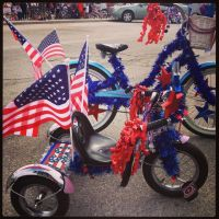 4th of July bicycle decorations. | Cool Bikes | Pinterest ...