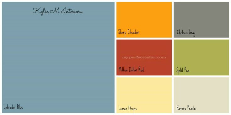 Boys room colour palette benjamin moore with labrador blue
