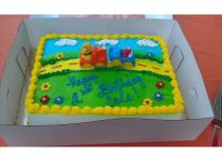 Stop and Shop Cake | Elmo Birthday Party | Pinterest ...