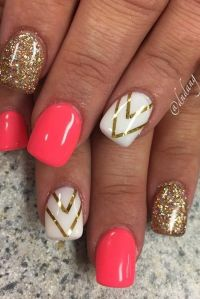 25+ best Gel nail designs ideas on Pinterest | Gel nail ...
