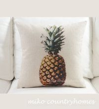 Pineapple Art | Throw Pillow Cover | Home, Pillow covers ...