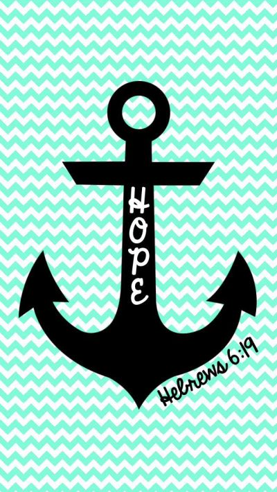 Cute chevron anchor wallpaper | Anchors | Pinterest | Hope ...