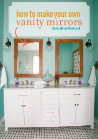 How To Build Your Own Bathroom Vanity - WoodWorking ...