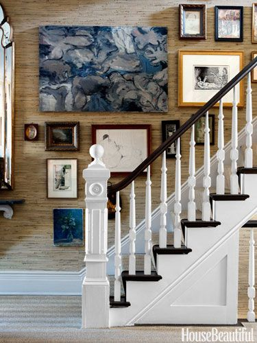 10+ images about Staircases on Pinterest | Runners, Fornasetti wallpaper and House