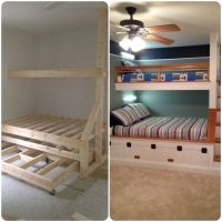 17 Best images about Home - Bunk rooms on Pinterest ...