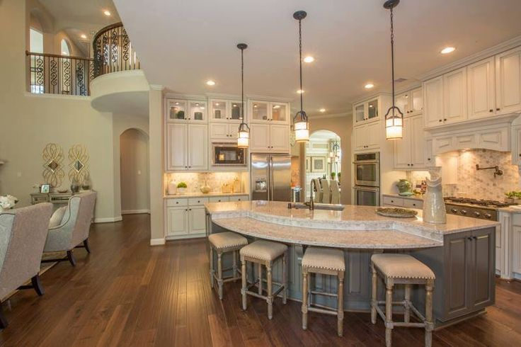 Curved Kitchen Island With Seating 25+ Best Ideas About Large Kitchen Island On Pinterest