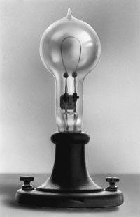 In 1879, the first light bulbs lasted a mere 150 hours ...