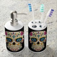 Skull Bathroom Accessories - Bestsciaticatreatments.com