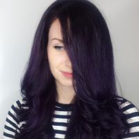 Best 20+ Dark purple hair ideas on Pinterest | Dark purple ...