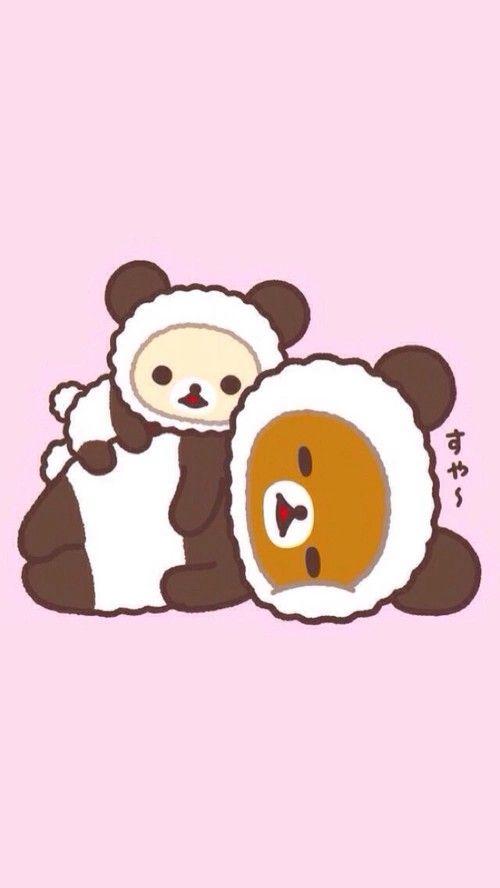 Cute Kitty Cartoon Wallpaper Rilakkuma Kawaii Pinterest Rilakkuma Pandas And