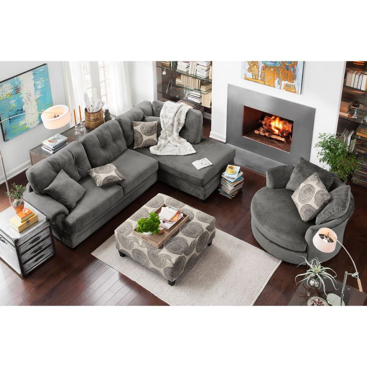 Contemporary Living Room Furniture Ideas Sectional Throughout Decor - living room with sectional