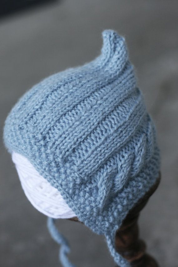 Garter Ear Flap Hat 80 Best Images About Baby Hats - Knit Pixie On Pinterest
