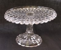 51 best images about ~VINTAGE GLASS CAKE STANDS~ on ...