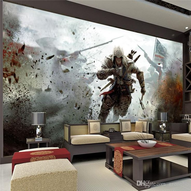 Classic Car Wallpaper For Bedrooms Game View Wall Mural Assassins Creed Photo Wallpaper Hd
