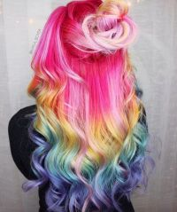 17 Best images about Multi-Color Hair Ideas (If i'm brave ...