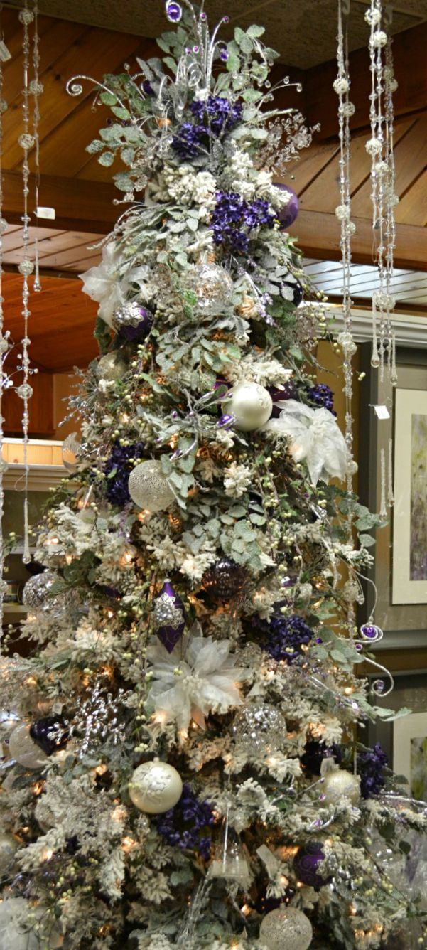 Find this pin and more on christmas decorating ideas elegant white chirstmas tree