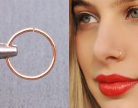 25+ best ideas about Nose hoop on Pinterest | Nose ...