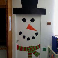 Snowman door decoration | Classroom Door Decorations ...