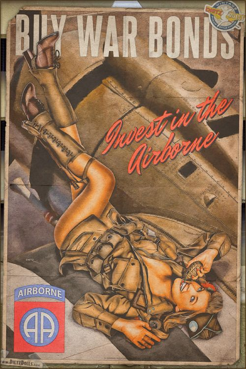 Army Pin Up Girl Wallpaper Vandaag Amp Rsquo S Airbrush Stijl Pinup Foto Is Een Ander