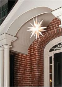hang a Monrovian star on your doorway for Christmas ...