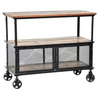 Mobile Wood Storage Cart - WoodWorking Projects & Plans