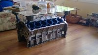 Engine block coffee table.   Engine Block Coffee Table ...