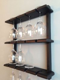 How To Make A Wine Glass Rack Shelf - WoodWorking Projects ...