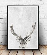 25+ best ideas about Deer art on Pinterest | Deer drawing ...