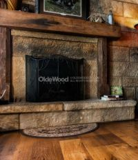 17 Best ideas about Rustic Fireplace Mantels on Pinterest ...