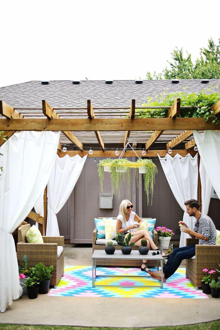 Outdoor curtains pergola - Outdoor Curtains For Pergola Outdoor Curtains Pergola 30 Amazing Outdoor Space Design Ideas Pergola Curtainsoutdoor