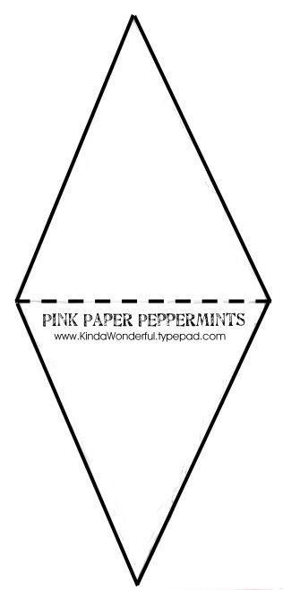 triangular banner template