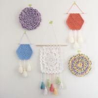 Best 20+ Crochet wall art ideas on Pinterest