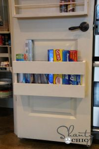 17 Best ideas about Behind Door Storage on Pinterest ...