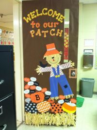 Best ideas about Fall Classroom Door Decoration, Pumpkin ...