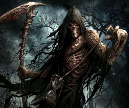 Girl Holding Money Wallpaper Cool Grim Reaper Wallpapers Grim Reaper With Hourglass