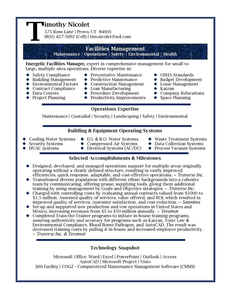 Project Officer Sample Resume Project Officer Resume Template