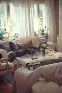 10 Best ideas about Cozy Living Rooms on Pinterest ...