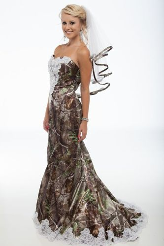 white camo wedding dress white camo wedding dress realtree wedding dresses Realtree Camo Wedding Dresses and Formal Attire This is my future