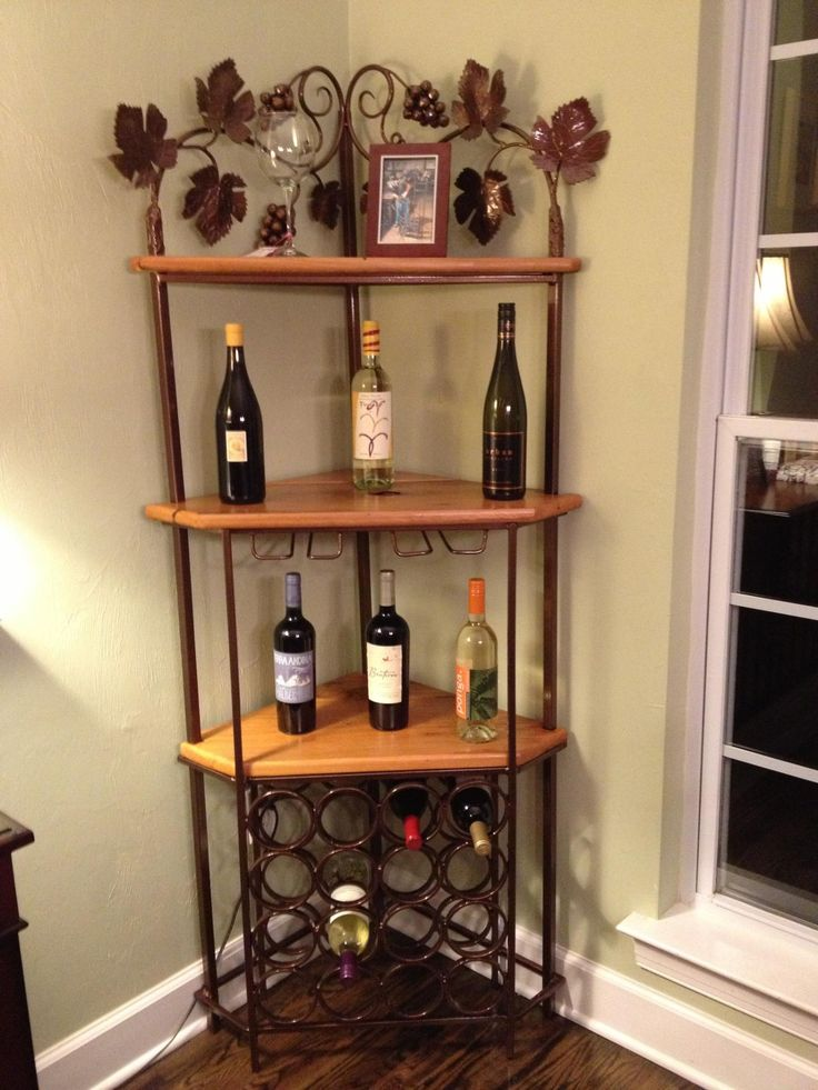 Custom Corner Wine Rack Projects Pinterest Wine