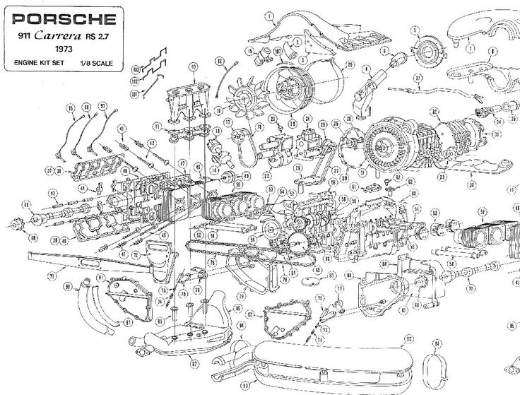 how porsche engine works