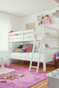 25+ best ideas about White Bunk Beds on Pinterest | Bunk ...