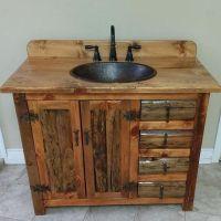 25+ best ideas about Rustic bathroom vanities on Pinterest ...